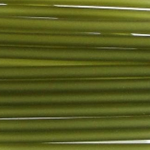 3 mm PVC Schlauch in Oliv  50 cm.für Mineralien,Schmuck,Stein