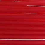 3 mm PVC Schlauch in Rot  60 cm.für Mineralien,Schmuck,Stein