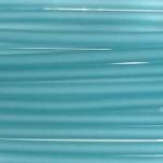 3 mm PVC Schlauch in Türkis  50 cm.für Mineralien,Schmuck,Stein
