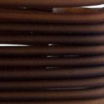 3 mm PVC Schlauch in Braun 50 cm.für Mineralien,Schmuck,Stein