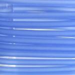 5 mm PVC Schlauch in Blau 40 cm.für Mineralien,Schmuck,Stein