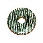 1 Donut Silberauge ca.60 mm
