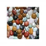 Stein Mix Trommelsteine 5 Kg.L  Steingöße ca. 25-35 mm Größe 7 L viele Sorten