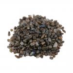 Labradorit Trommelstein 450 g. Splitter Zierkies Steinchengröße ca. 0.5 - 2 cm