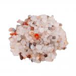Achat weis Natur Trommelstein 1 Kg. Splitter Zierkies Steinchengröße ca. 0.5 - 2 cm