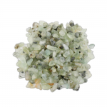 Prehnit Trommelstein 1 Kg. Splitter Zierkies Größe ca. 0.5 - 2 cm