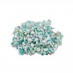 Amazonit Trommelstein 5 Kg. Splitter Zierkies Steinchengröße ca. 0.5 - 2 cm