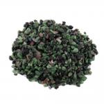 Rubin in Zoisit Trommelstein 1 Kg. Splitter Zierkies Steinchengröße ca. 4 - 6 mm