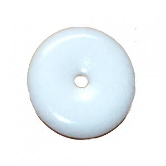 Marmor weiß 1 Donut ca.55 bis 57 mm