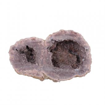Achat mit Geode 1 Unikat sein Gewicht hat 573 g.