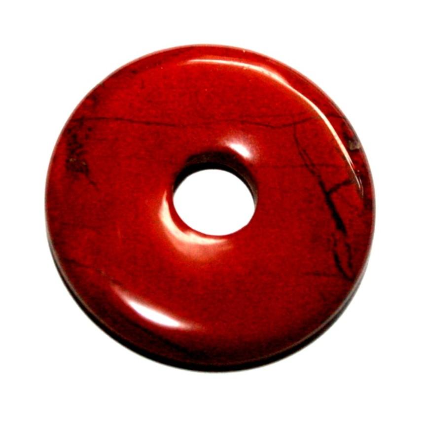 Dalmatiner Jaspis 1 Donut ca.40 mm``Mineralien Stein Schmuck Deko Fossilien