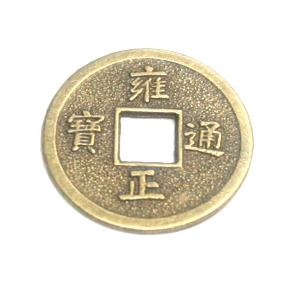 Chinesische Glücks Münze 10 St Ca20 Mm Feng Shui Amulett