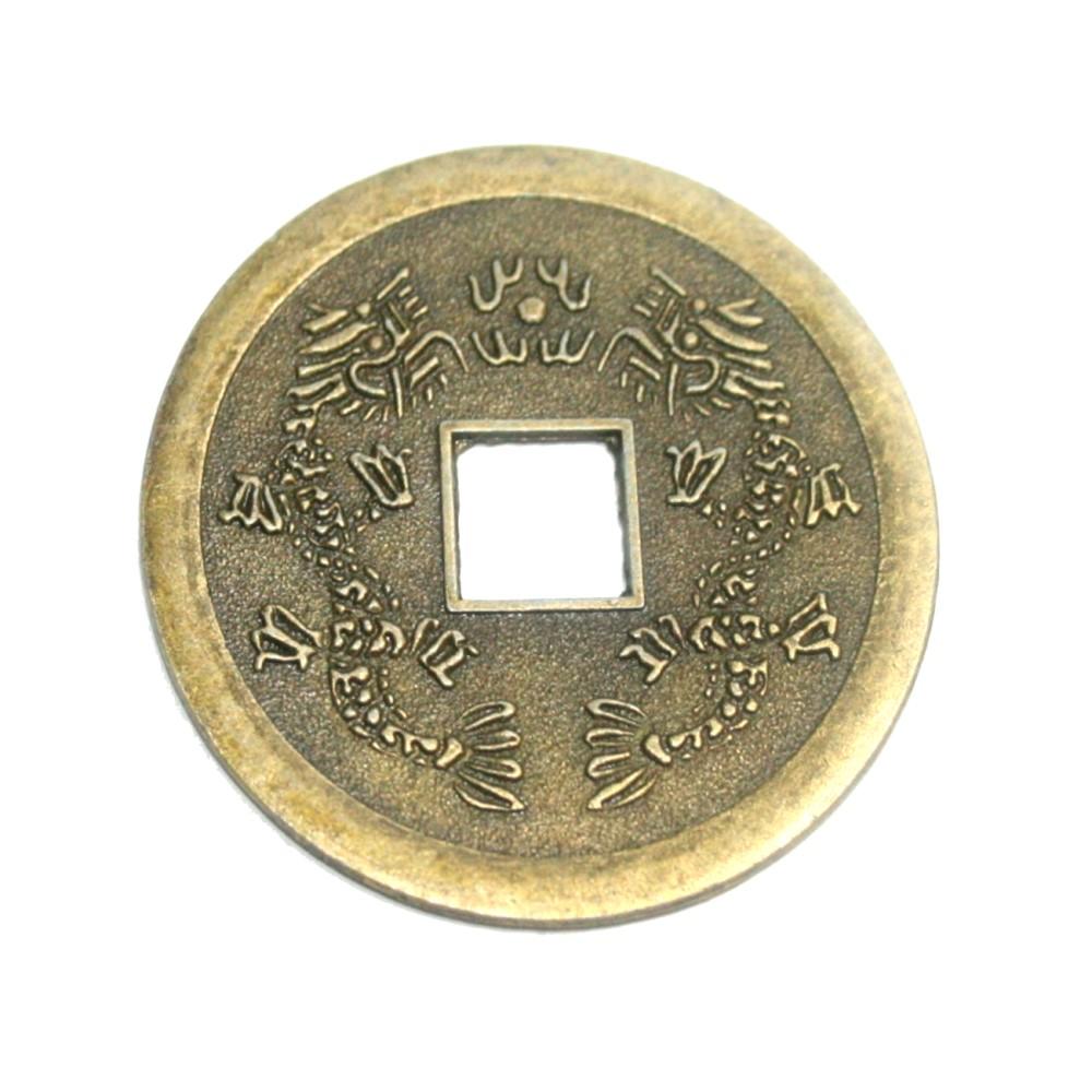 Chinesische Glücks Münze 1 St Ca 38 Mm Feng Shui Amulett