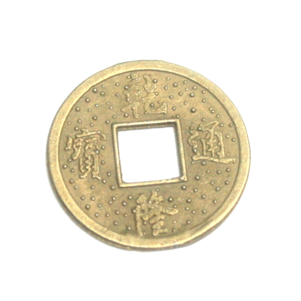 Chinesische Glücks Münze 10 St Ca23 Mm Feng Shui Amulett